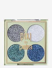 Pixi - Glitter-y Eye Quad - Ögonskuggspalett - bluepearl - 0