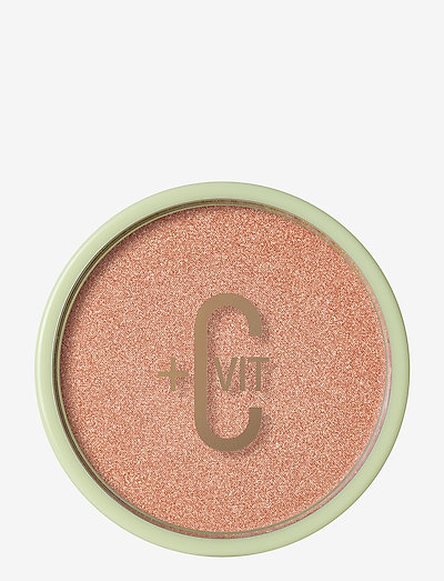 +C VIT Glow-y Powder - puuterit - peach dew