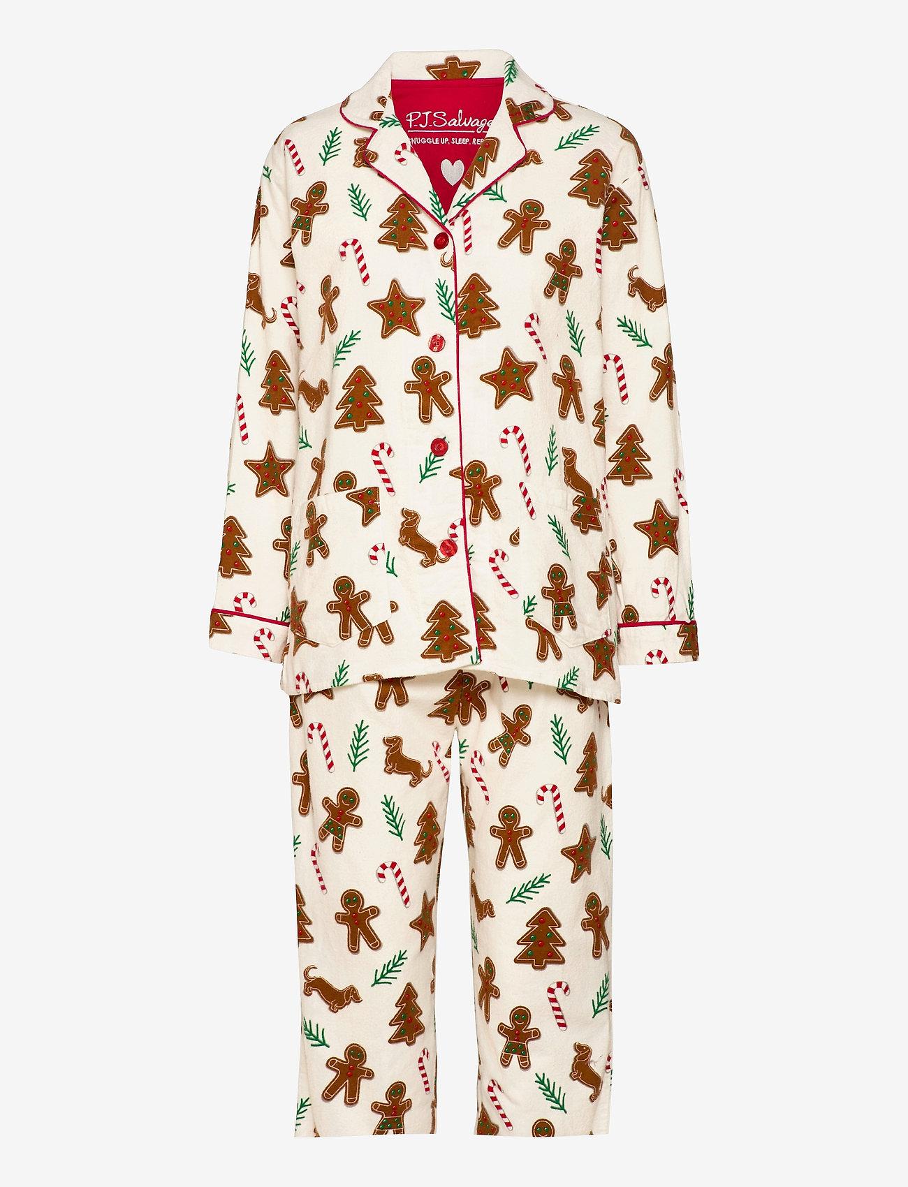 PJ Salvage - pyjama - pyjama''s - off-white - 0