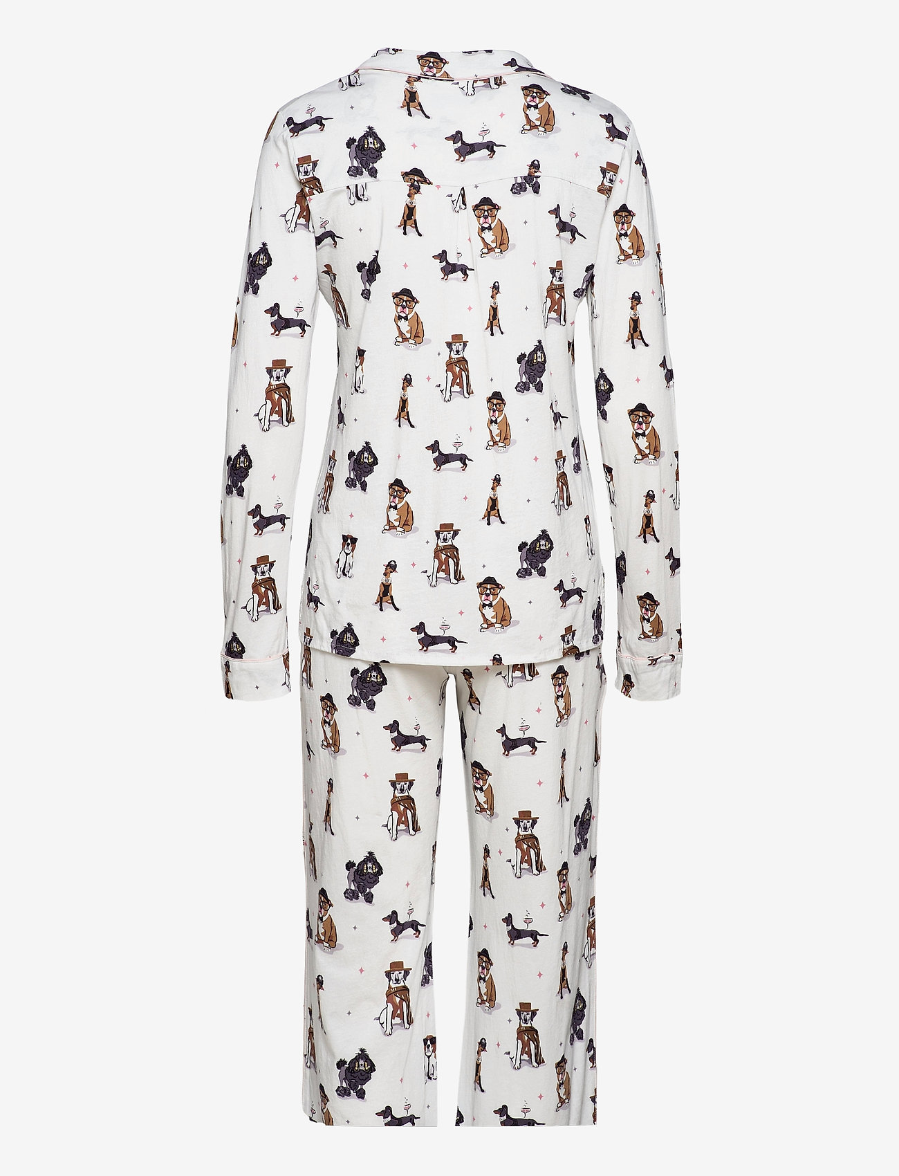 PJ Salvage - Pyjama Long - pyjama''s - off-white - 1