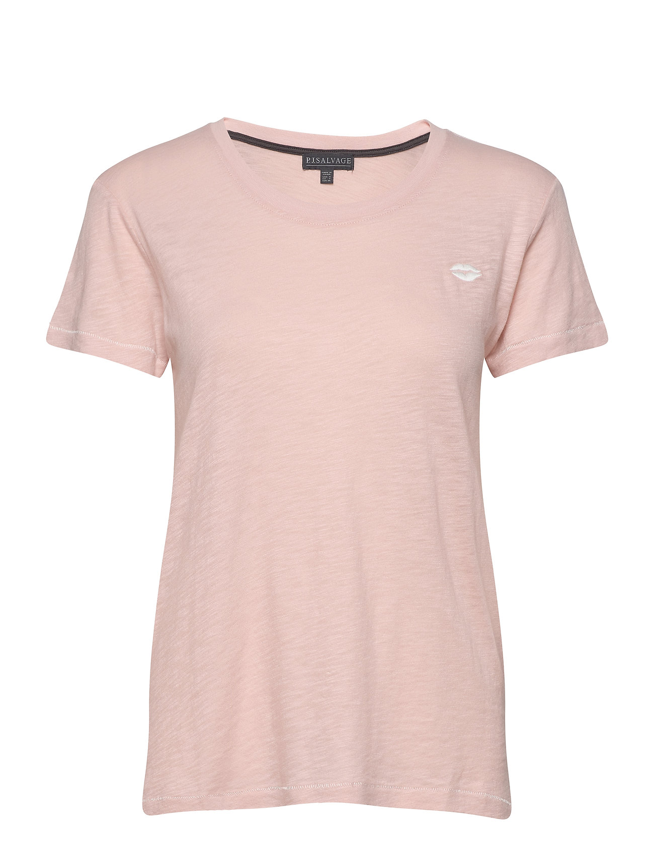 Image of S/S T-Shirt Top Lyserød PJ Salvage (3432608047)