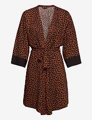 PJ Salvage - Kimono - pegnoirs - brown - 0