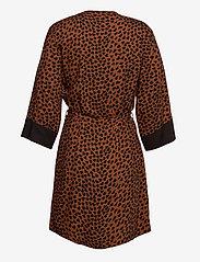 PJ Salvage - Kimono - pegnoirs - brown - 1