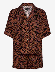 PJ Salvage - Pyjama Short - pyjama''s - brown - 0