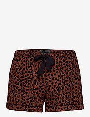 PJ Salvage - Pyjama Short - pyjama''s - brown - 2