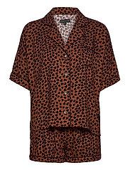 Pyjama Short - BROWN