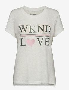 Shirt 1/2 - yläosat - off-white