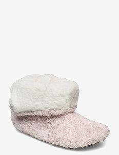 bootie - pantoffels - rose