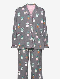 Pyjama Long - pyjamas - grey