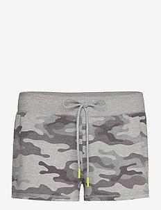 Low Rise Pants Long - shorts - grey