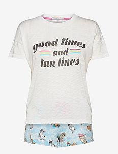 pyjama set - pyjamas - off-white