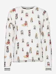 Shirt 1/1 - overdeler - off-white