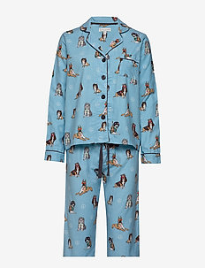 PJ SET - DUSTY BLUE