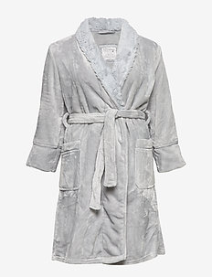 ROBE - LIGHT GREY