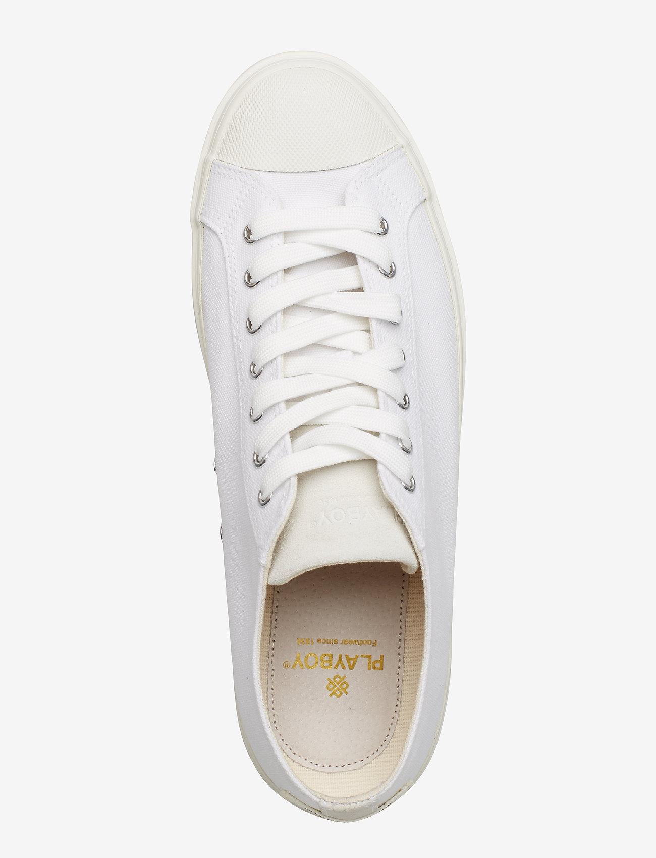Alfred (White) - Playboy Footwear