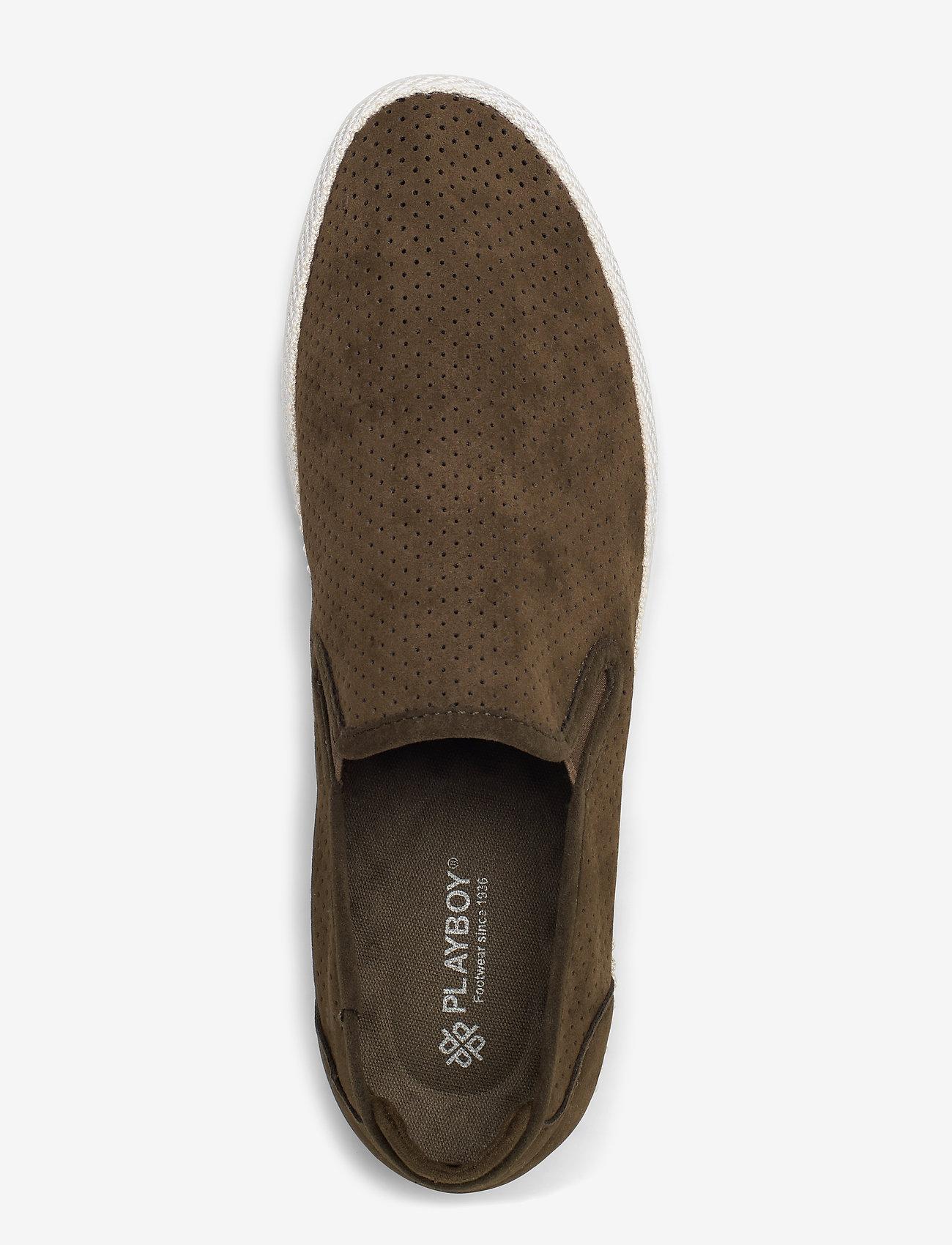 Samuel (Green) - Playboy Footwear