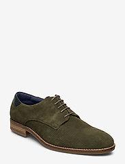 Playboy Footwear - CARL - buty ze skóry lakierowanej - green - 0