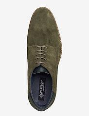 Playboy Footwear - CARL - buty ze skóry lakierowanej - green - 3