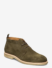 Playboy Footwear - ORG.64 - desert boots - olive green - 0