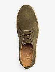Playboy Footwear - ORG.64 - desert boots - olive green - 3