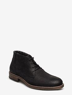 7750 - veter schoenen - black