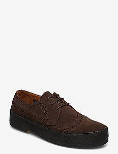 ORG.22 - buty sznurowane - brown