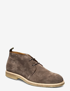 ORG.64 - desert boots - taupe