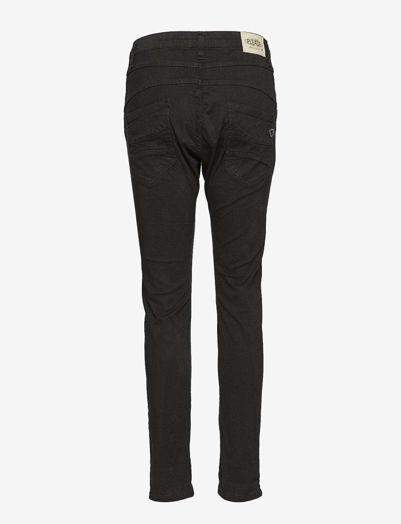 Please Jeans - Classic Cotton Rose Dust - rette bukser - nero - 1