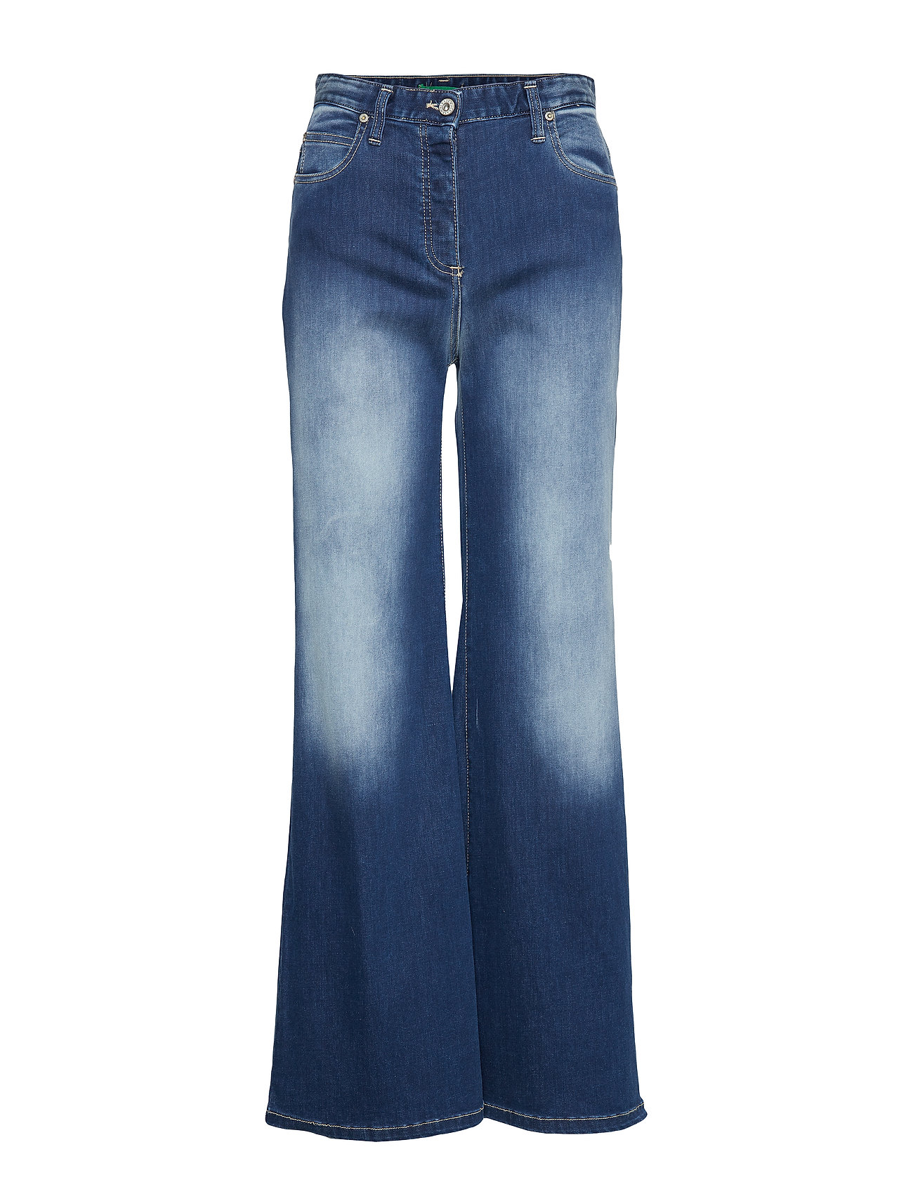 Please Jeans WIDE LEG STOCKHOLM - BLU DENIM