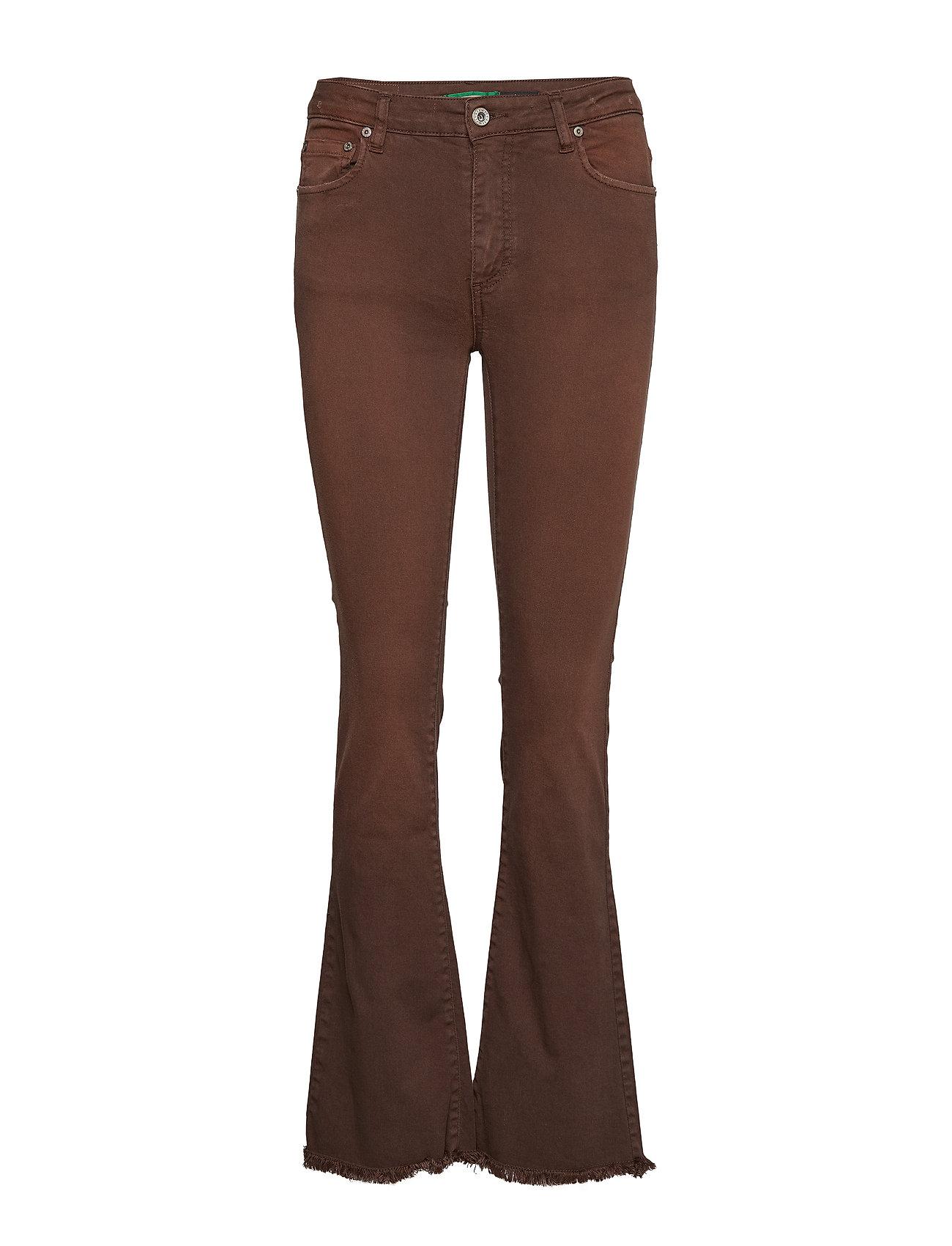 Please Jeans LONGCUT COTTON BOB - MORO