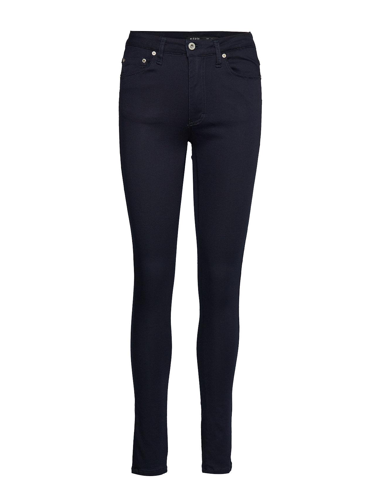 Please Jeans SLENDER DARK DENIM - BLU