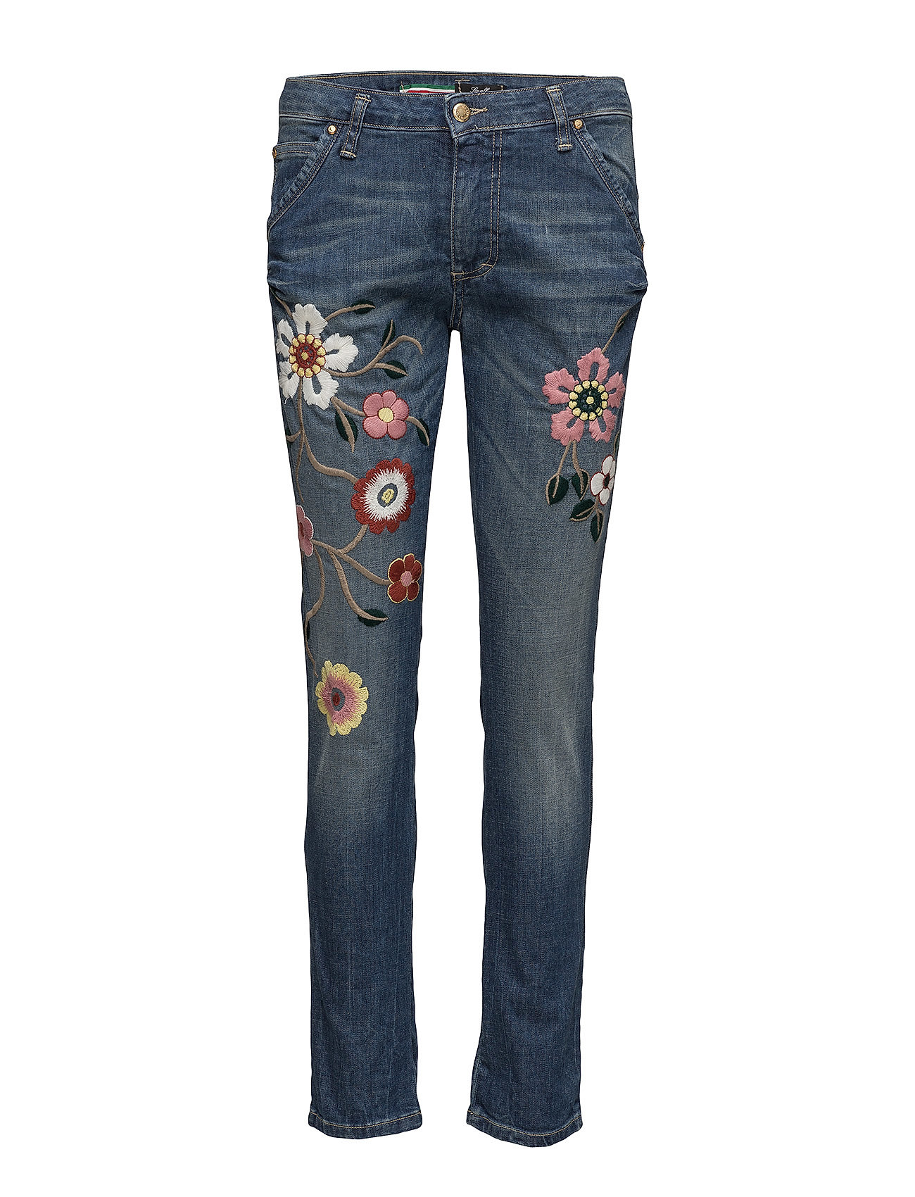Please Jeans F rosa FLOWER Jeans