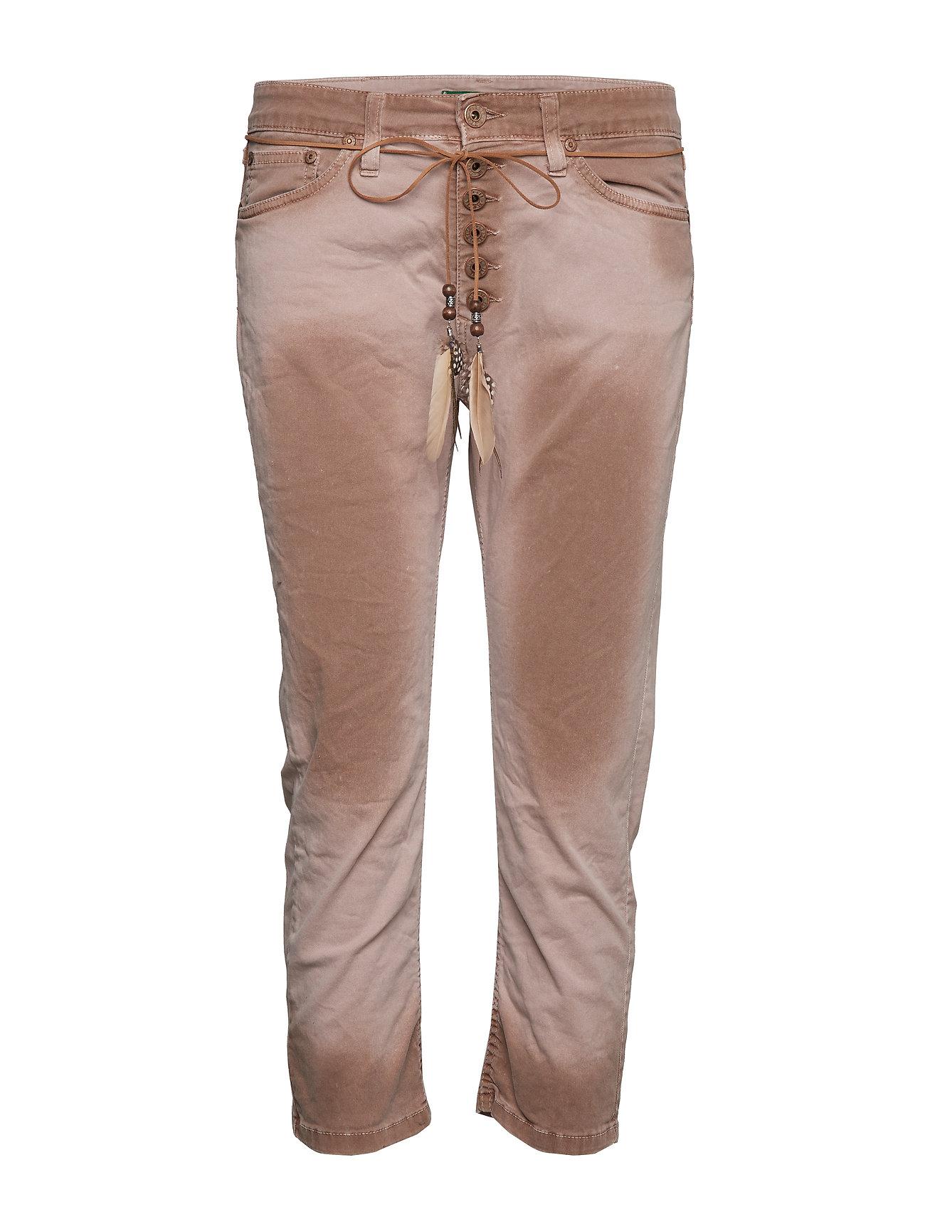 Please Jeans 6B Capri Rame rosa Jeans