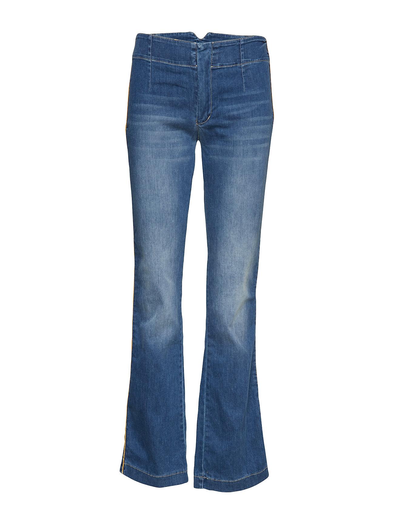 Please Jeans Longcut Buckle Denim