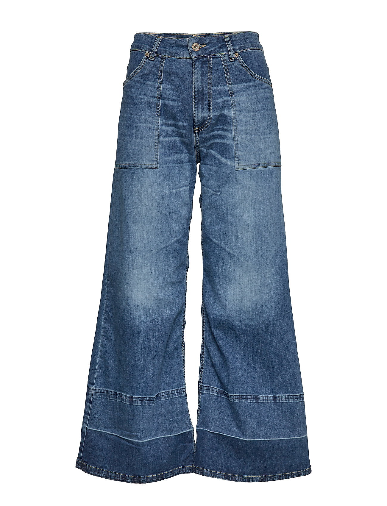 Please Jeans Wide Leg Denim Jeans