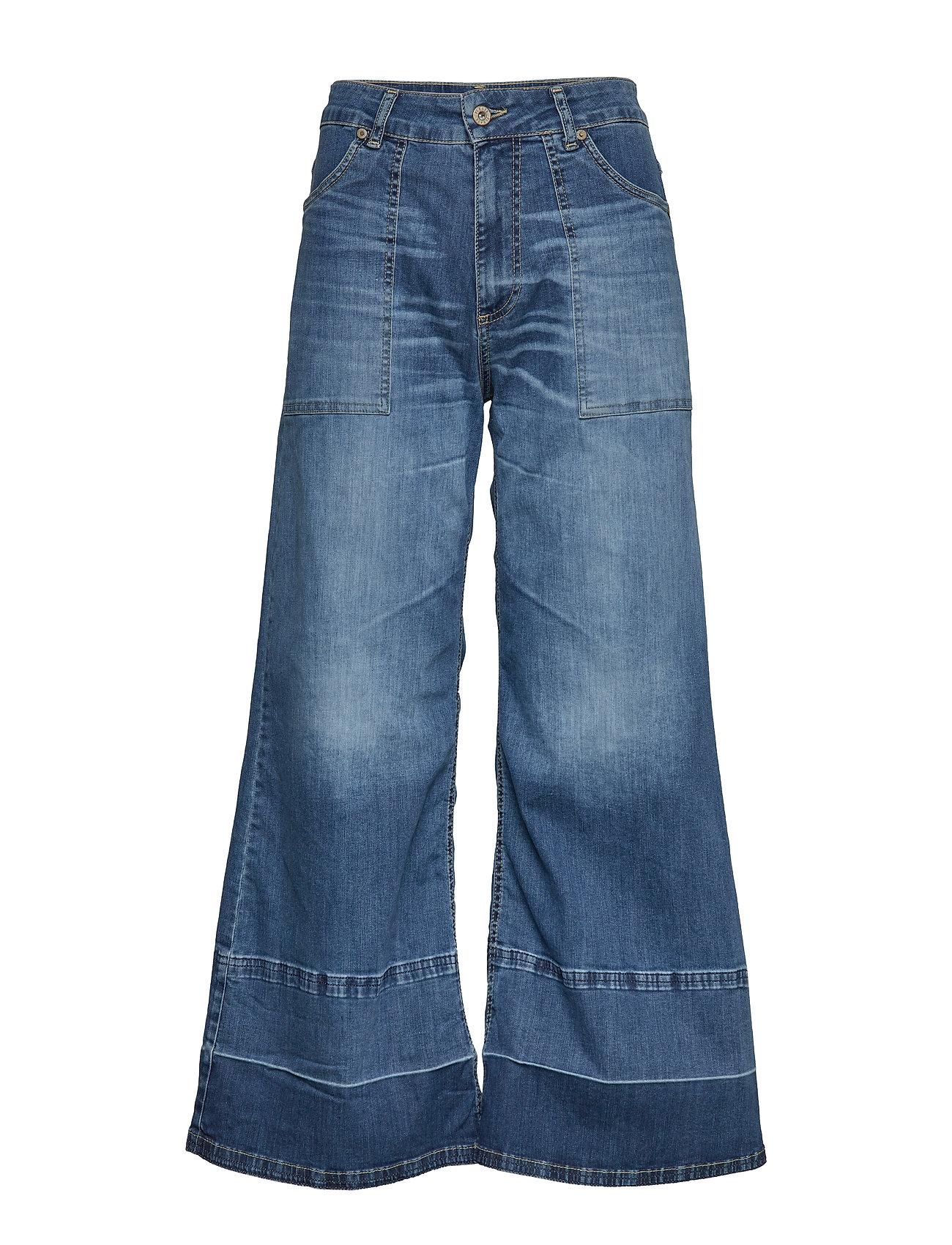 Please Jeans Wide Leg Denim