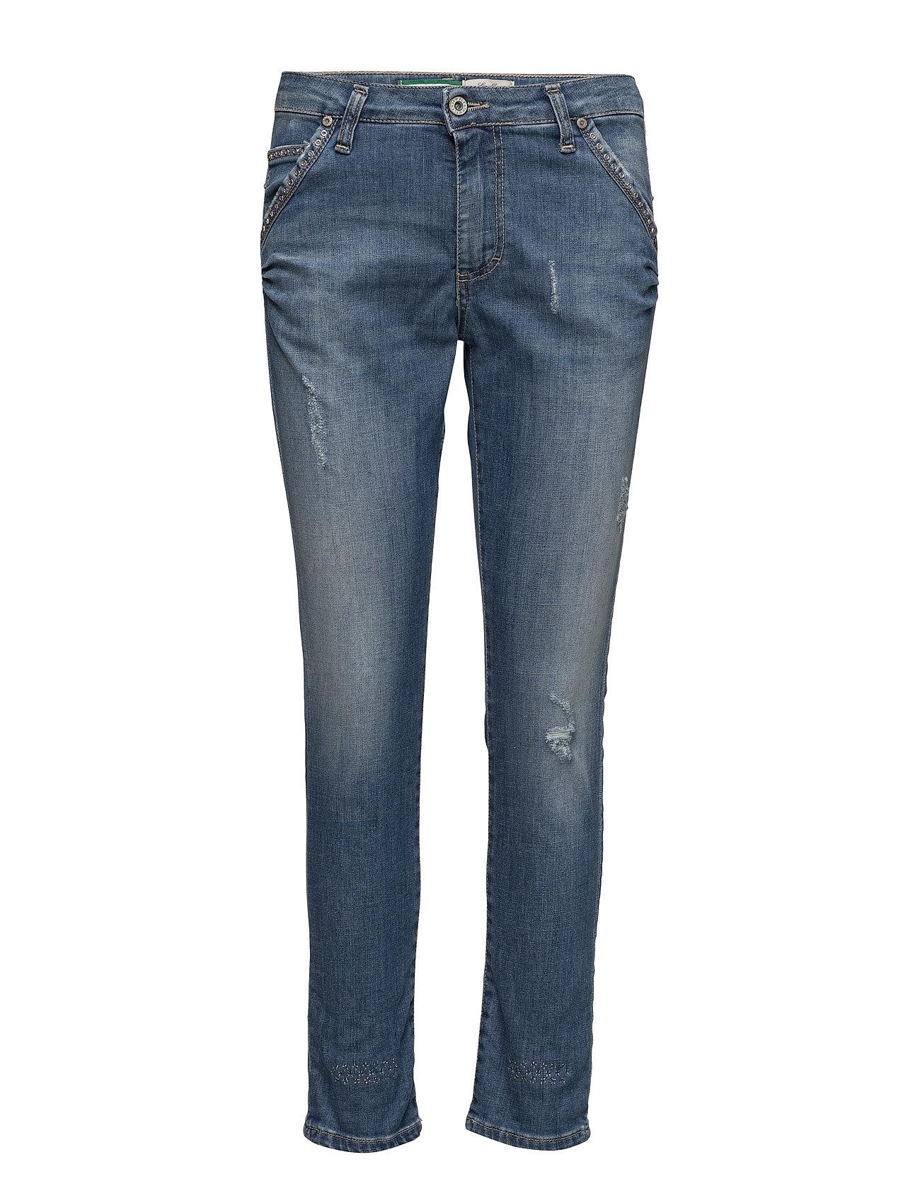 Please Jeans Fancy Denim Studs (Blue), 437.25