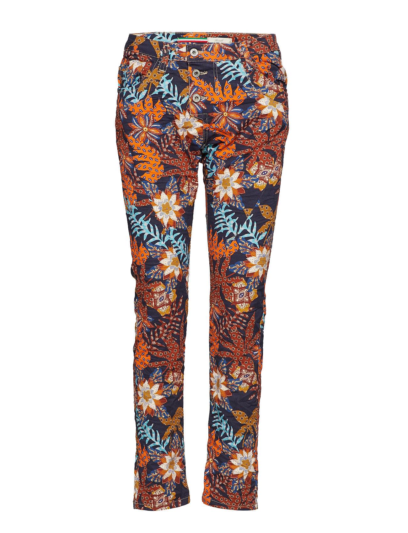 Please Jeans CLASSIC PALM PRINT Jeans