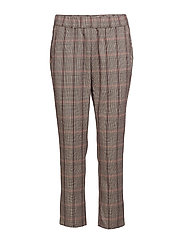 SUITPANTS CHECKED ROSSO - ROSSO
