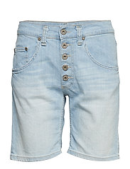 5B SHORTS LIGHT BLU - 5001 BLU DENIM