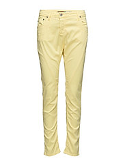 Fine Flap Yellow Cream - YELLOW