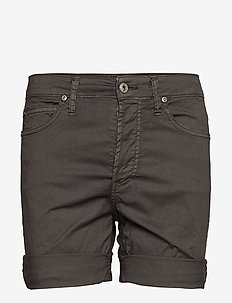 GIRLFRIEND SHORTS COTTON - casual shorts - nero vecchio