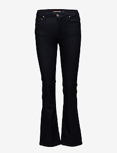 LONGCUT ORIGINAL D. STR. - boot cut jeans - blu denim