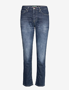 GIRLFRIEND OSLO - straight jeans - blu denim