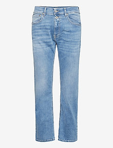 2B DENIM L0NDON - straight jeans - blu denim