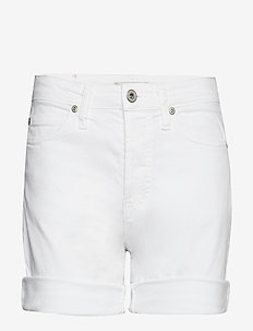 GIRLFRIEND SHORTS WHITE D. - casual shorts - bianco ottico