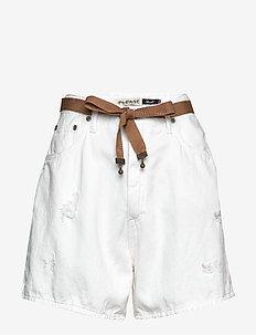 COOL BERMUDA - denimshorts - bianco