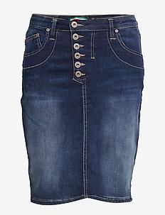 SL STOCKHOLM - jeanskjolar - 5001 blu denim