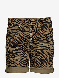 5B SHORTS ZEBRA - casual shorts - 6022 cool kaki