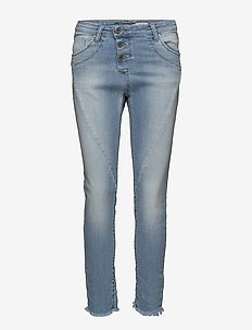 C LIGHT STR. CUT - straight jeans - blue denim
